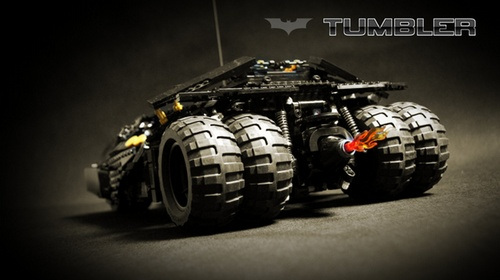 Lego Technic Motorized Tumbler Design Games 2012